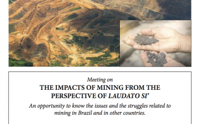 The impacts of mining from the perspective of Laudato Si'